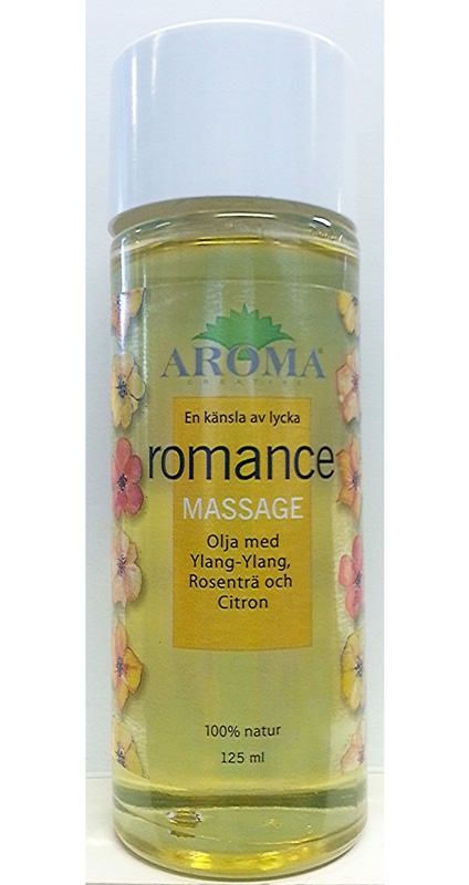 Romance Massageolja, 125 ml