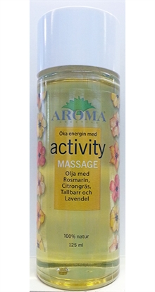 Activity Massageolja, 125 ml